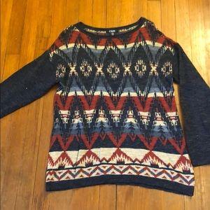 Beautiful patterned sweater.
